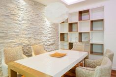 white stone walls | Details about White Quartzite Rock Panels - 3D Stone Wall Cladding ...