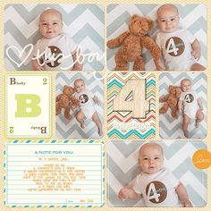 Jase's Baby Scrapbook – Completed!