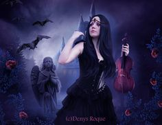 La Dama Triste by DenysRoqueDesign