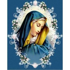 Mother Mary Images, Images Of Mary, Mama Mary, Blessed Mother Mary, Blessed Virgin Mary, Image Jesus, Jesus Christus, Our Lady Of Sorrows, Mosaic Pictures