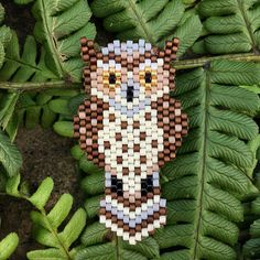 My entry for the Walk in the Woods contest by @8.mars_ and @perlesandco and @florette_ellebe #promenonsnousdanslesboisMiyuki This is my first time submitting an original brick stitch beadwork for a competition and I had an absolutely wonderful time making this wise great horned owl.  . . . #owl #brickstitch #thehappynow #awalkinthewoods #thenativecreative #ashandloomoriginal #ashandloom #greathornedowl #fall #autumn #darlingdaily #creativityfound #makersgonnamake #miyukiaddict #miyukideli...