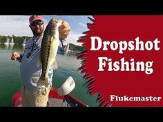 Dropshot Bass Fishing - Like Playing a Video Game - YouTube