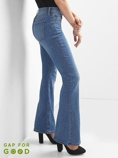 6408bfb4bd7 Mid rise curvy perfect boot jeans Curvy Jeans