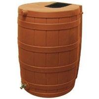 Terra Cotta 50-Gallon Rain Wizard Rain Barrel @ bestrainwatercollectionsystems.com