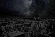 Paris 48° 51' 52'' N 2021-07-14 Utc 22:18 (2012) by Thierry Cohen, via Artsy