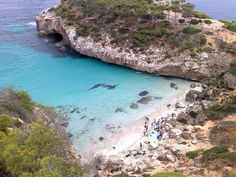 Cala del Moro, near to Palma de Mallorca