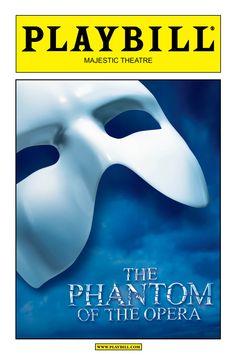 Broadway - Blue Playbill