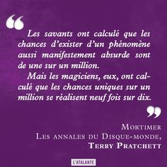 Mortimer, Les Annales du Disque-monde de Terry Pratchett #discworld #book #quote⎢Citations