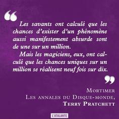Mortimer, Les Annales du Disque-monde de Terry Pratchett #discworld #book #quote⎢Citations