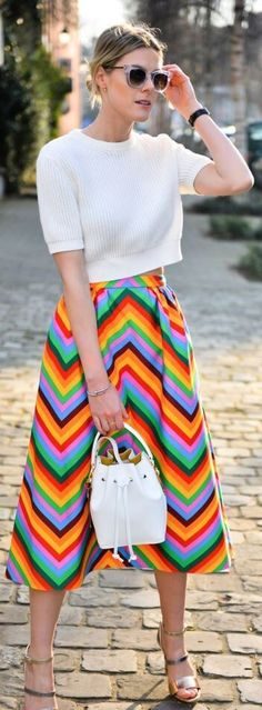 Rainbow trend: Put the colors on your wardrobe – Fashion | Food | Travel
