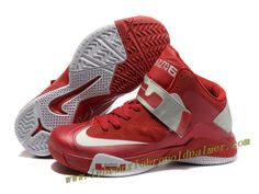 bb6a3713ccdb Nike Lebron Zoom Soldier VI Shoes Red Gray 2013 Nike Jordan 12