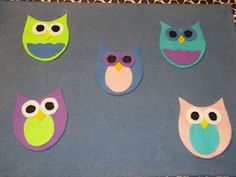 What is Bridget Reading?: #FlannelFriday: Five Little Owls