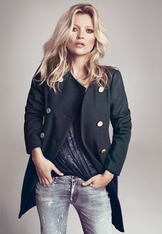 Kate Moss for Mango Winter 2012