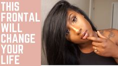 This Frontal Will Change Your Life | Malibu Dollface Pre-plucked Frontal...