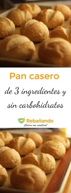 Low Carb Recipes, Cooking Recipes, Pan Dulce, Pan Bread, Sin Gluten, Healthy Desserts, Tan Solo, Cooking Time, Tapas