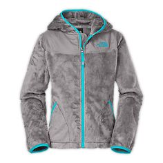 b298544659e0 Cute fuzzy North Face hoodie Kids North Face Jackets
