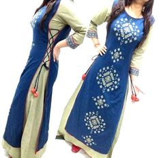 15 Latest And Stylish Party Wear Kurtis For Girls