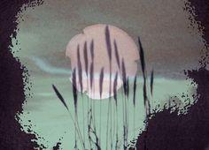 abstraktes Mondbild von Peter Norden bei artflakes.com als Poster oder Kunstdruck $19.41