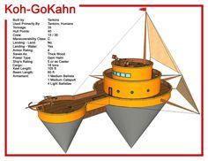Spelljammer Ship - Koh-GoKahn