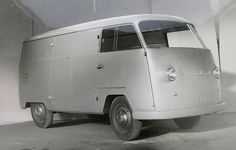OG | 1954 Palten-Diesel Kombi | One of Five Prototypes based on Volkswagen and designed by Palten (Austria) and Westfalia.