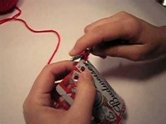 Beer Can Crochet tutorial