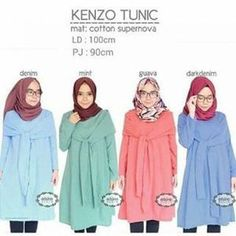 Busana Muslim Modern Kenzo Tunik
