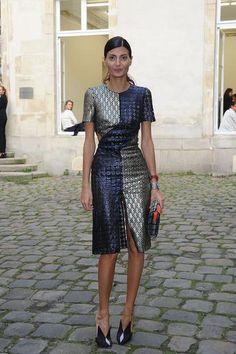 Delfina Delettrez Presents Jewelry Collection: Arrivals - Paris Fashion Week Womenswear SS14 - Day 7