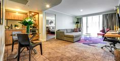 A Junior Suite at the newly refurbished South Bank Brisbane. Pent House, Hotel, Contemporary, Milano, Brisbane, Design, Home Decor, Decoration Home, Room Decor