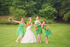 fun wedding party photos #weddingphotography #bridalparty #burlington Melissa Avey Photography wedding photos