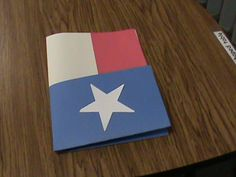 Cute folder for Texas unit projects!