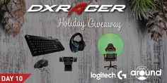 Day 10 of DXRacer's Holiday Giveaway: I just entered Day 10 of @DXRacer's Holiday #Giveaway to win a @LogitechG and @TWebaround ultimate streaming bundle! Enter at DXR.US/DAY10 #DXGiveaway
