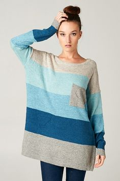 Laurel Sweater in Blue on Emma Stine Limited