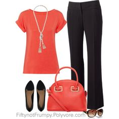 """""""Wide Leg Pants"""" by fiftynotfrumpy on Polyvore"""