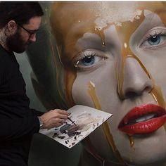 @mikedargas #oilpainting #painting #hyperealism #hyperrealism #art #amazing