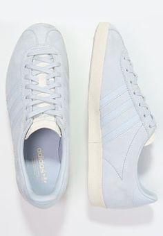 d537cec350f Baskets basses adidas Originals GAZELLE - Baskets basses - blue/chalk white  bleu…