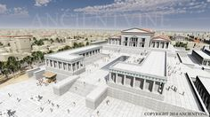 The Glory of Alexandria: The great thinkers of the age, scientists, mathematicians, poets from all cultures came to study and exchange ideas. Greek was reinforced as the language of science and knowledge in that period... pict.:http://www.ancientvine.com/libraryofalexandria.html