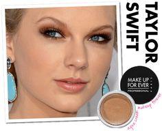 taylor-swift-make-up-forever-maquiagem-sombra-cobre-dourada-metalizada-vestido-branco-people-choice-awards