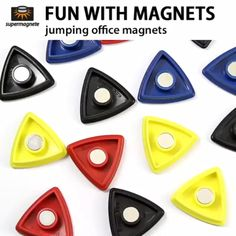 Office magnets for magnetic boards & whiteboards - supermagnete.