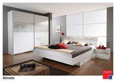 Dormitorul Almeloe by Rauch moebel - Mobila Germania Timisoara - mobila dormitor online timisoara Bed, Furniture, Home Decor, Medium, Ideas, House, Decoration Home, Stream Bed, Room Decor