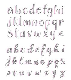 Wrong lowercase calligraphy letters - how to fake calligraphy . - Wrong Lower Case Calligraphy Letters – How To Fake Calligraphy – Simple Tutorial – Wondernote - Fake Calligraphy, Calligraphy Fonts Alphabet, Script Alphabet, Hand Lettering Alphabet, Alphabet Design, Easy Caligraphy, How To Hand Lettering, Learn To Write Calligraphy, Penmanship