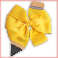 We think this is one of the most adorable back-to-school hair-bows of all time! Join Cassie on the blog as she demonstrates how to make this sweet pencil hair-bow with easy-to-follow instructions!