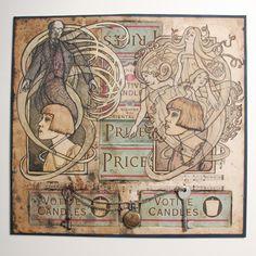 'Elegant Channels' by Jonny Dixon Journal Ideas, Elegant, Illustration, Modern, Artwork, Vintage, Classy, Art Work, Chic
