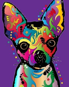 Chihuahua....I'd love to get my hands on this print, maybe a 5x7, for framing purposes! I love my chis, the pure-bred and the 2 mixed-breeds! :D