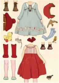 Belle & Boo `Stickerkaart Belle Classic`