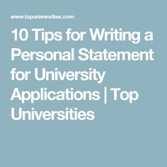 Personal Statement For Resume Stunning Personal Statement And Resume  Berkeley Law  Getting In To Law .