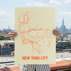 NYC Screen Print Cement Green now featured on Fab.