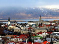 Borgin við Sundin, Reykjavik, Iceland