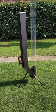 Pellet torch does anyone already have one? Homemade Pool Heater, Homemade Pools, Metal Projects, Welding Projects, Porch Heater, Jet Stove, Rocket Stove Design, Stoves Cookers, Diy Rocket