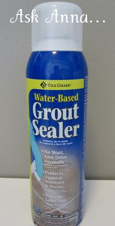 How to Clean & Seal Grout Lines - Ask Anna