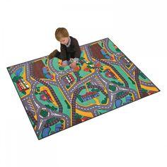 Childrens Street Carpet Play Mat - x Picnic Blanket, Outdoor Blanket, Floor Rugs, Little Ones, Carpet, Flooring, Play, Kids, Games